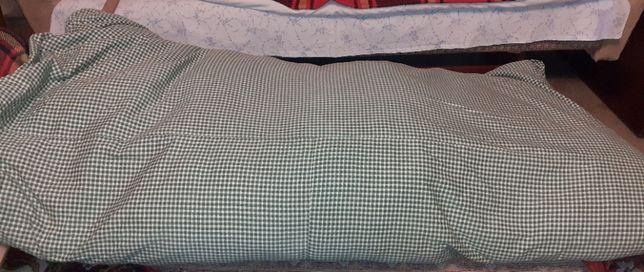 перина і подушка пухові