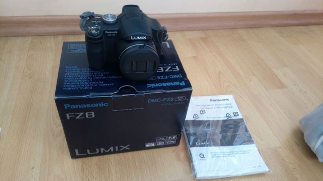 Фотоаппарат Panasonic LumixDMC-FZ8