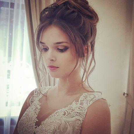 Свадебные причёски и профессиональный макияж