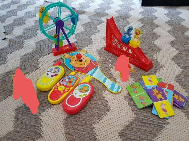 Kubuś Puchatek i Przyjaciele różne zabawki figurki domino