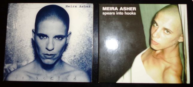 """Meira Asher - CDs """"Dissected"""" e """"Spears into Hooks"""""""