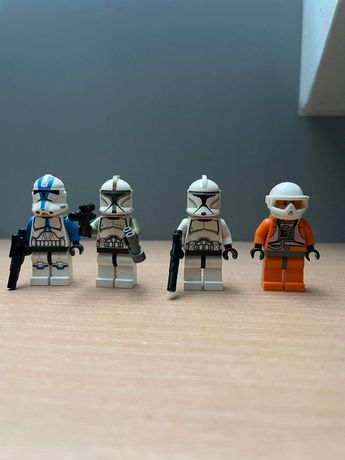 LEGO Star Wars Figurki Clone Troopers