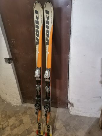 Narty Volkl P 50 plus buty Rossignol