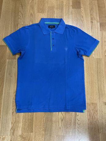 Niebieska koszulka polo Bytom M