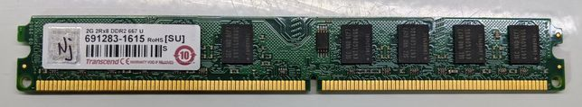 Оперативная память DIMM DDR2 2Гб 667МГц Transcend