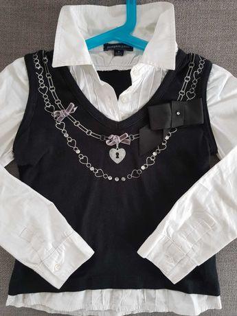 Elegancka bluzka dziewczęca,  rozm.  130