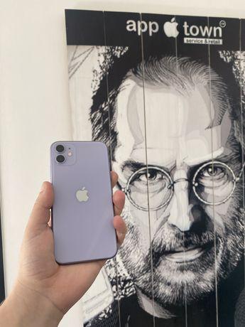 Iphone 11 64gb Purple Рассрочка/Гарантия/Идеал/Neverlock