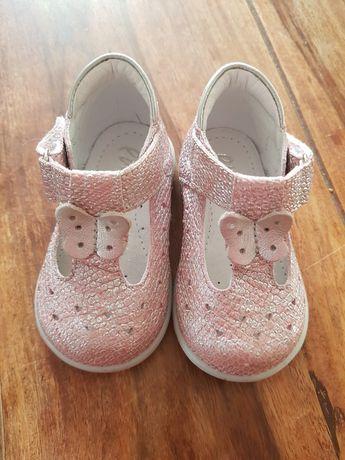 Nowe Emel skórzane pierwsze buty First step Emelki