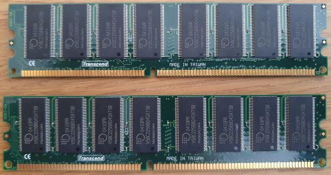 Memoria RAM Transcend 2x512Mb DDR400