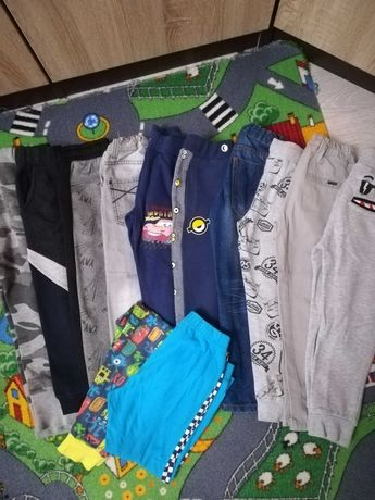 Spodnie chlopiec 104