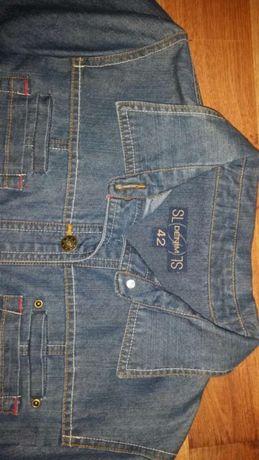 Kurtka koszula jeansowa Denim roz 42 modna firmowa