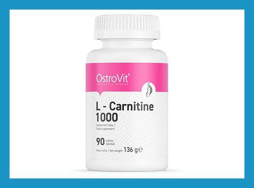 Жиросжигатель Спортивное питание OstroVit L-Carnitine 1000, 90 таб