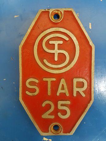 Star 25 emblemat-znak-oznaczenie
