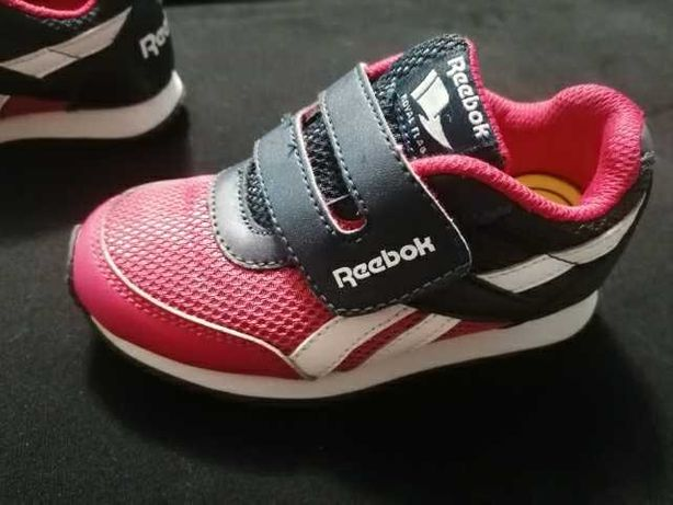 Sprzedam śliczne buciki dla dziewczynki, rozmiar 25,5, firmy REEBOK.