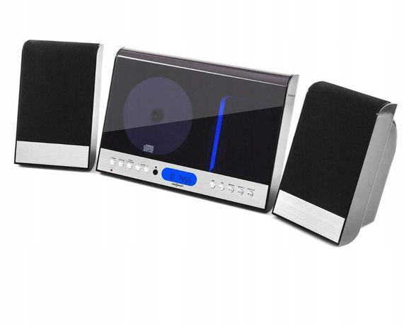 Mini wieża CD MP3 USB SD FM