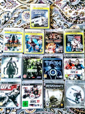 Коллекция Игр для PlayStation 3. При покупке пакета игр целиком = 2000