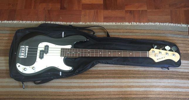Guitarra baixo + amplificador Legacy