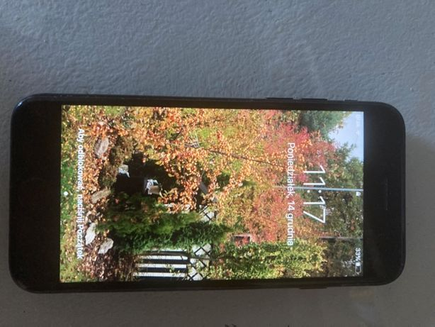 i phone 7, używany, w dobrym stanie, z ładowarką
