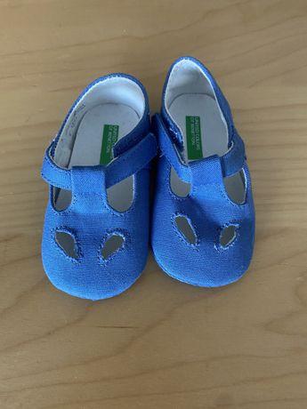 Sandalia bebe azul novo