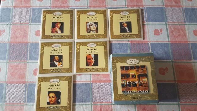 6 CDs Árias de Ópera