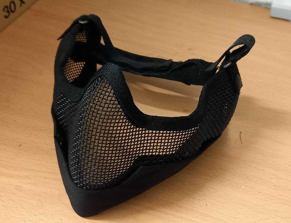 Mascara protecção de rede para Airsoft