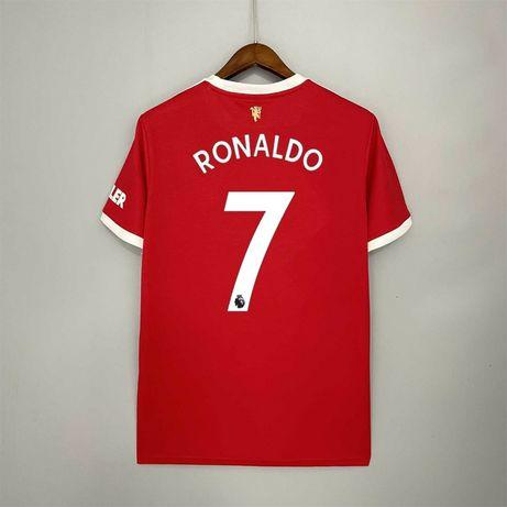 Camisola nova principal do Manchester United Ronaldo