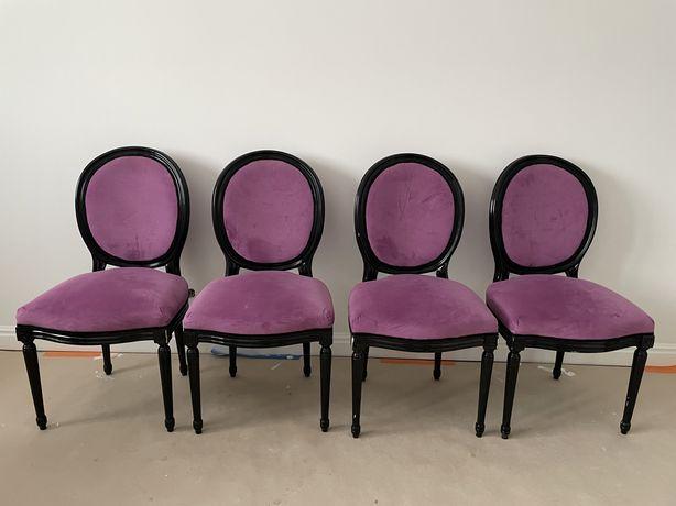 Krzesła w stylu Ludwik komplet