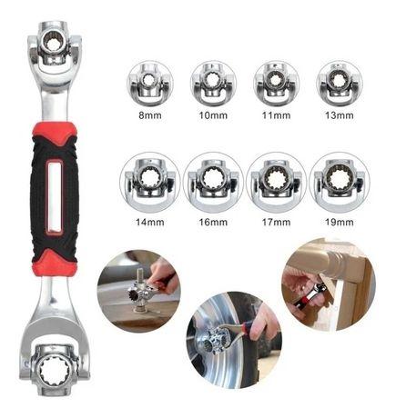Universal 360 Graus 48 Em 1 Soquete Aço Tiger Wrench chave inglesa