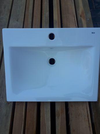 Umywalka Roca wpuszczana, jak nowa. Biała