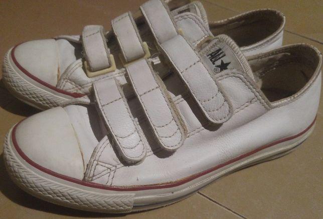 Кеды кожа Converse 39разм 24,5см унисекс подростки