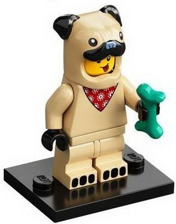 LEGO figurka seria 21 KOSTIUM PSA
