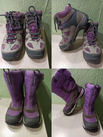 Зимние ботинки сапоги кроссовки