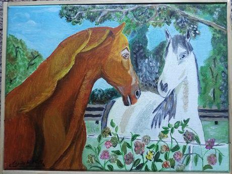 Obraz dla miłośnika koni