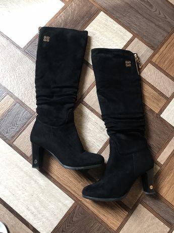 Lino Marano чоботи, сапоги, ботфорти, ботфорди, зима, зимние, зимові