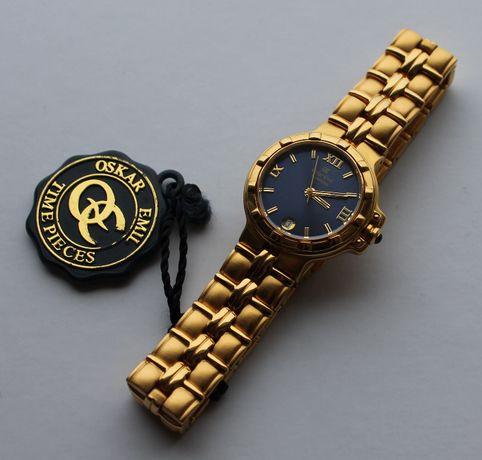 Pozłacany zegarek damski Oskar Emil Casablanca model 301L