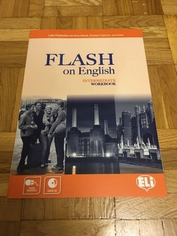 Flash on English Intermediate Workbook ELI anglielski książka PŁYTA CD