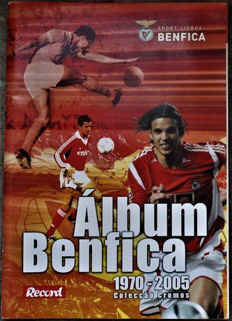 Futebol: Álbum Benfica, como novo
