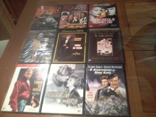 DVD - Clássicos (Humphrey Bogart/Marilyn Monroe/etc)