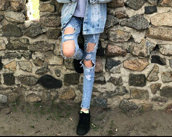 Джинсы на девочку ,детские джинсы