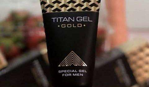 Titan Gel Gold (Титан Гель Голд) для потенции и увеличения члена