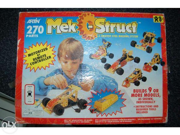 Jogo MEK_struct lego metal carro telecomandado
