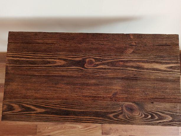 Blat do stolika drewniany do maszyny maszyna Singer rustykal