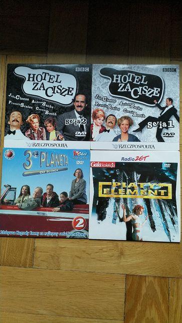 Hotel Zacisze, Piąty element i 3 planeta od słońca na dvd
