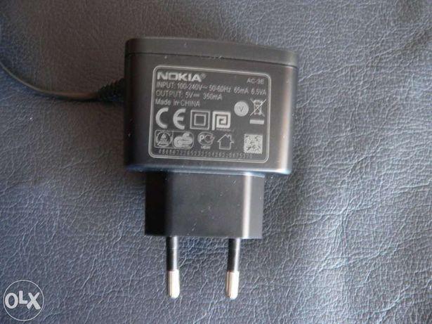Carregador Nokia AC-3E, Output 5V 350mA original ( NOVO)