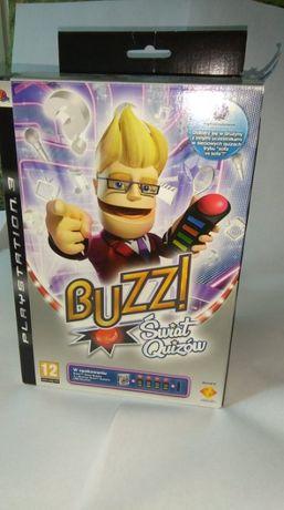 Buzz Swiat Quizow Na Sony Ps3 Po Polsku 4Buzzerami Wysylam Pobraniem