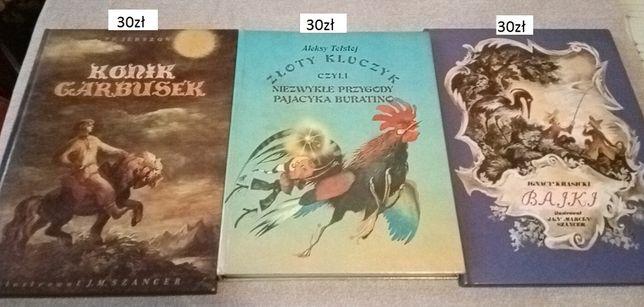 Książki dla dzieci młodszych i starszych