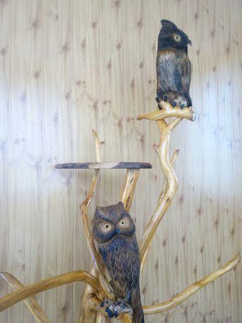 Сови дерев'яні