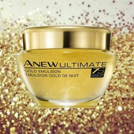 Avon Anew Ultimate emulsja z bioaktywnym złotem na noc 50ml.