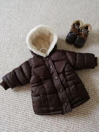 Зимова куртка та черевички на 1рік +-
