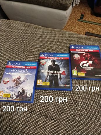 Продаю 3 ігри на ПС4.